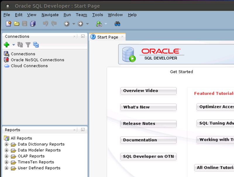 Accessing the Oracle Database from your own Laptop or Workstation