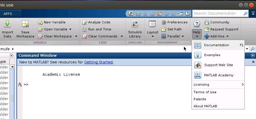 Running MATLAB on Linux or MacOSX