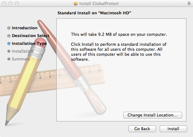 Using the University VPN from Macintoshes - a Guide for Users in the
